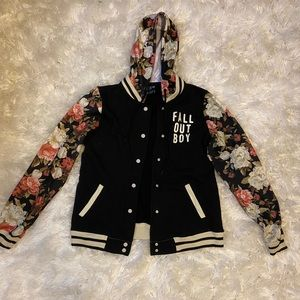 Fall Out Boy Flower Jacket